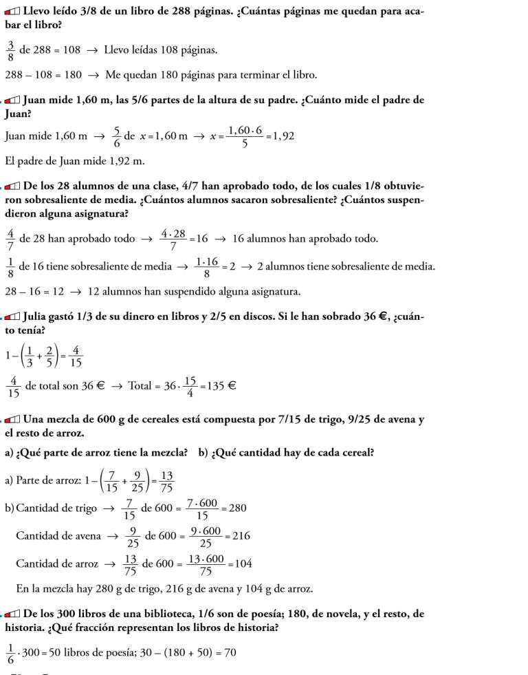 fracciones y deciumales 2